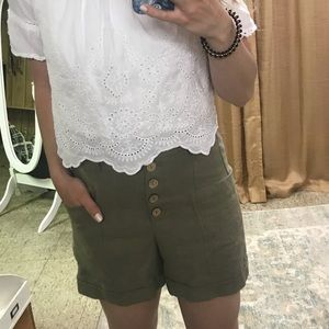 NWT high waist shorts